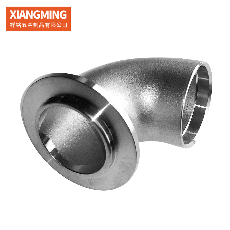 Automobile flange stainless steel silica sol casting sanitary hardware fittings stainless steel non-standard cast pipe fittings